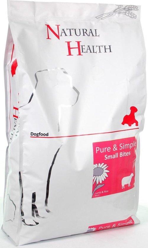 Natural Health Dog Lamb & Rice Small Bite 7.5 Kg
