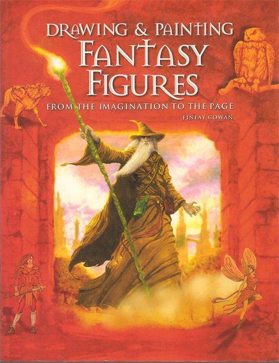 Fantasy figuren tekenen en schilderen - Finlay Cowan |