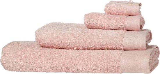 Walra Baddoek Soft Cotton Terry 50x100 cm roze - Walra
