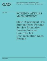 Foreign Affairs Management