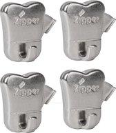 STAS zipper (set van 4 stuks)