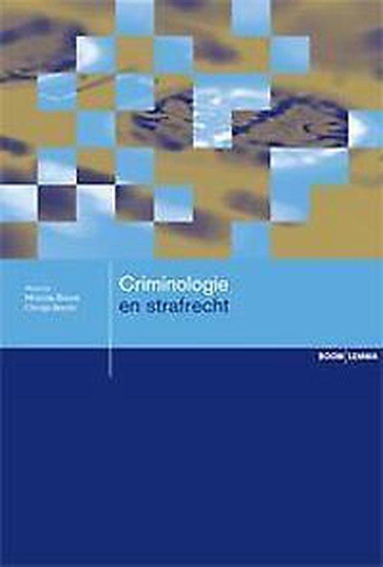 Criminologie en strafrecht - none | Fthsonline.com