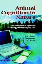 Boek cover Animal Cognition in Nature van Balda, Russell P.