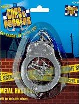 Metalen speelgoed handboeien met sleutels