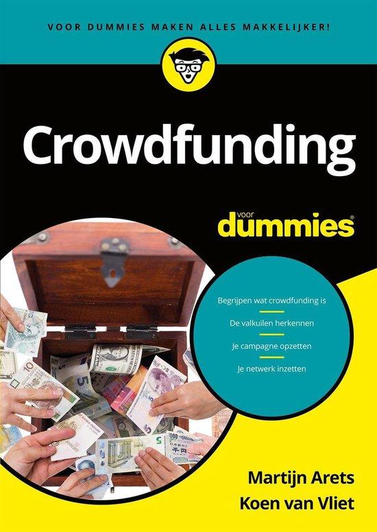 Boek cover Voor Dummies - Crowdfunding voor Dummies van Martijn Arets (Onbekend)