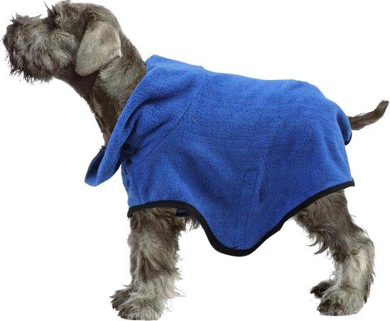Pawise - Badjas - Blauw - Hond - Dierenkleding - XXL