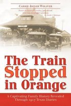 The Train Stopped in Orange