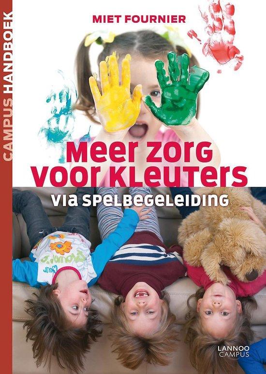 Boek cover Campus handboek  -   Meer zorg voor kleuters van Miet Fournier (Paperback)