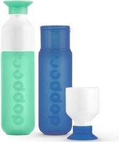 Dopper Drinkfles - Mintata en Pacific - duo set 2 kleuren
