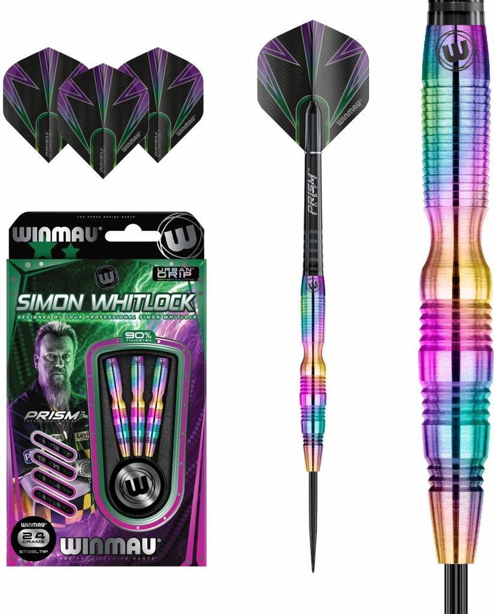 Winmau Simon Whitlock Rainbow 90% - 24 Gram