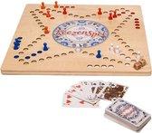 Clown Games houten keezenspel