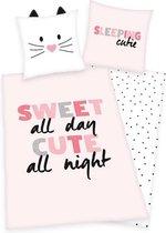 Dekbedovertrek Cute Girls - Beddengoed - Slaaptextiel