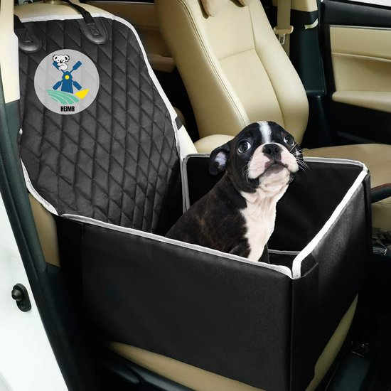 Autostoel Hond - Hondenstoel Auto - Hondenmand Auto - Opvouwbaar Autozitje Hond - Hoge Kwaliteit - 50cm x 48cm