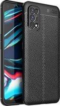 Realme 7 Pro hoesje - Soft TPU Case (Zwart) - Just in Case