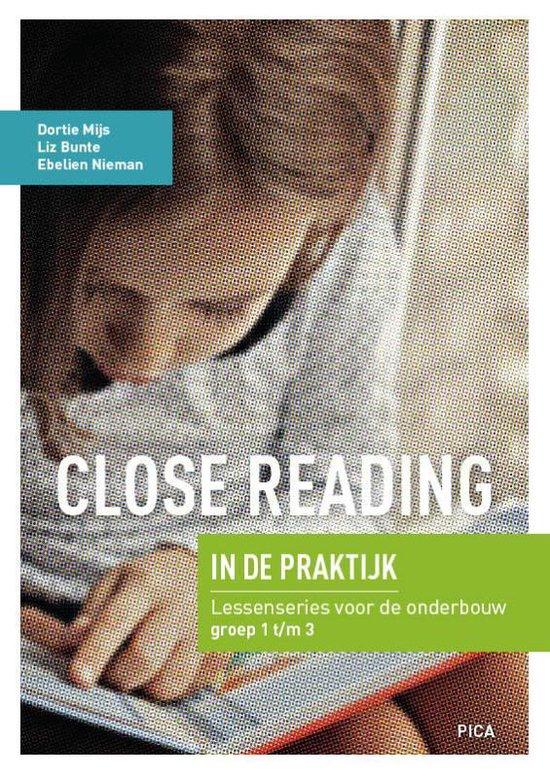 Boek cover Close Reading in de praktijk van Dortie Mijs (Paperback)