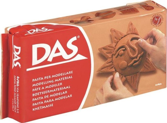 Afbeelding van Creatief   Klei - Das Klei Terracotta 1 Kilo speelgoed