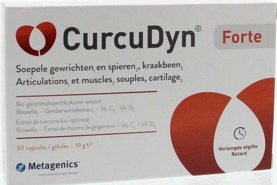 CurcuDyn Forte van Metagenics - 30 capsules