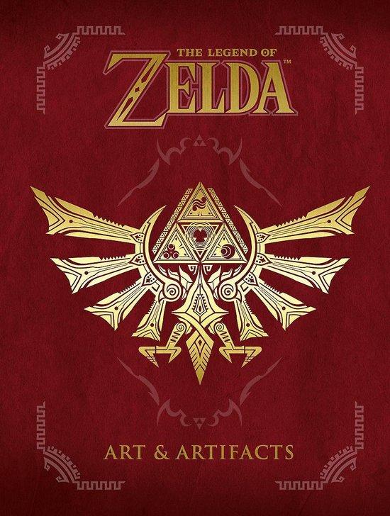 Boek cover The Legend of Zelda: Art & Artifacts van Merkloos (Hardcover)