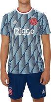 Adidas Afc Ajax Uitshirt 20/21 Heren - Blauw - Maat M