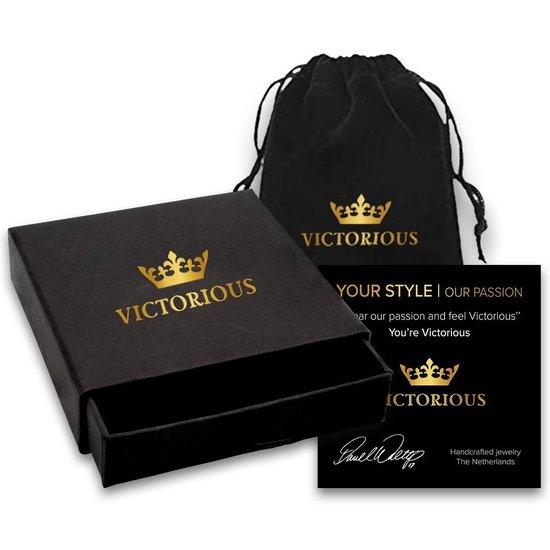 Victorious Dames Oorbellen – Zirkonia Kristal – Zilver