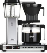 Moccamaster KBG Select - Filterkoffiezetapparaat - Zilver