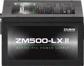 Zalman ZM500-LXII, 500W ATX voeding