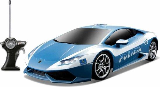 Afbeelding van Maisto Tech Bestuurbare auto Lamborghini Huracan Police RTR 1:24. 9x20cm. speelgoed