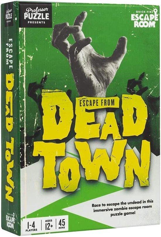 Afbeelding van het spel Professor Puzzle Escape From Dead Town