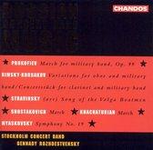 Russian Concert Band Music / Rozhdestvensky, Stockholm Band