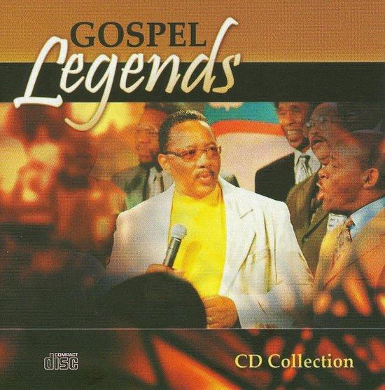 CD cover van Gospel Legends van various artists