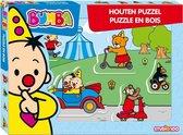 Bumba houten puzzel met dikke stukken voertuigen - Puzzel