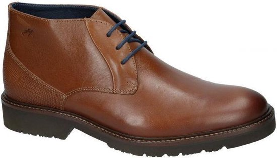 Fluchos -Heren -  cognac/caramel - bottine gekleed - maat 44