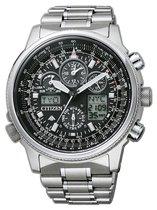 Citizen Promaster Super Pilot - Horloge - Titanium - Zilverkleurig / Zwart - Solar uurwerk - Ø 45 mm