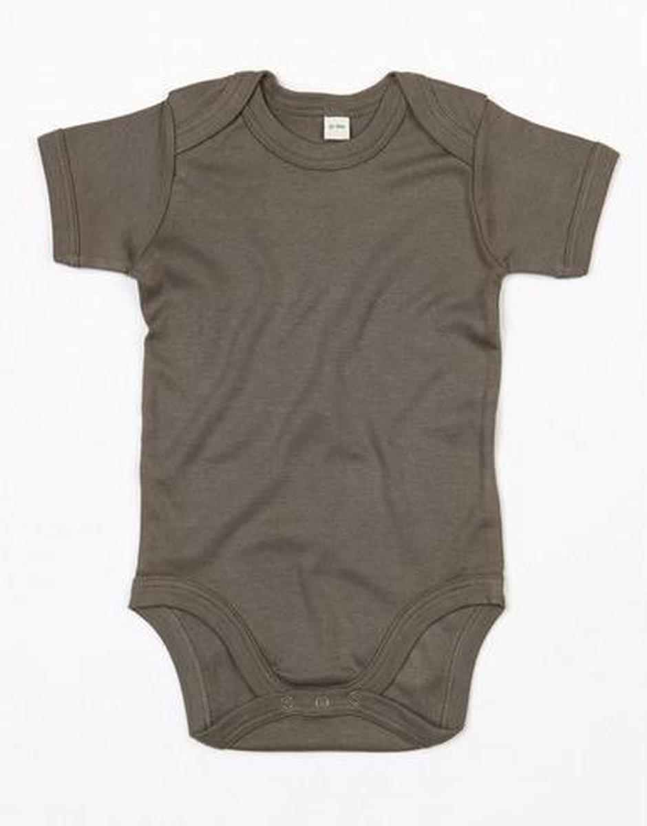 Babybugz Baby Romper Bodysuit / Baby en Peuterkleding (Organic Camouflage Green)