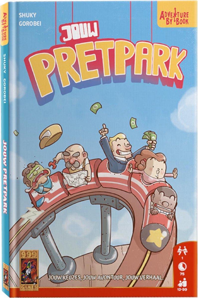 999 Games Actiespel Adventure By Book: Jouw Pretpark