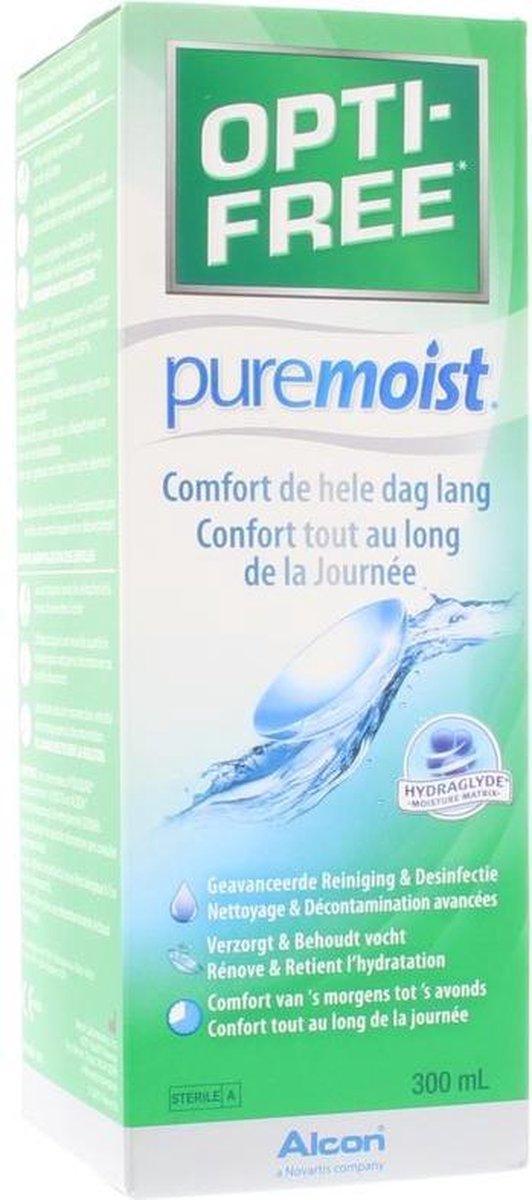 OPTI-FREE® PureMoist® alles-in-één lenzenvloeistof   1x 300ml
