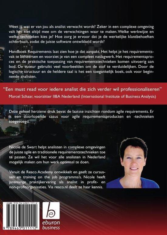 Handboek Requirements - Nicole de Swart
