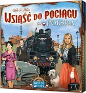 Ticket to Ride Polska - Bordspel (Pools en Engels)