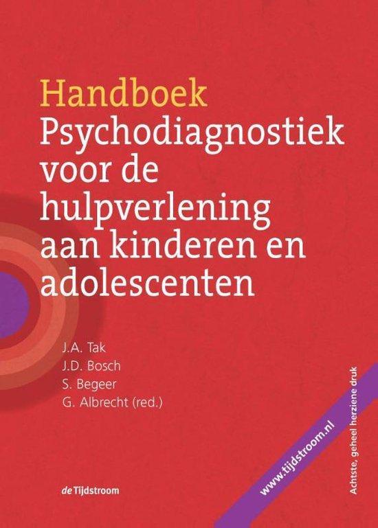 Boek cover Handboek psychodiagnostiek voor de hulpverlening aan kinderen en adolescenten van J.D. Bosch (Hardcover)