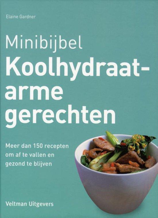 Omslag van Minibijbel  -   Koolhydraatarme gerechten