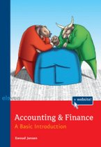 Boek cover Accounting & Finance van Ewoud Jansen (Paperback)