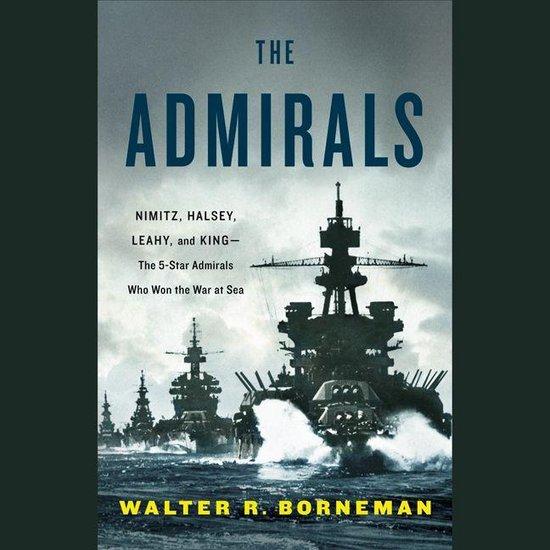 Boek cover The Admirals van Walter R. Borneman (Onbekend)