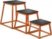 Sveltus Plyobox 3-delige Set Oranje