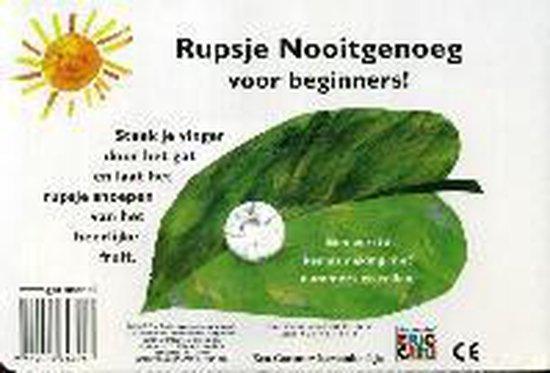 Boek Het Telboekje van Rupsje Nooitgenoeg + Vingerpopje