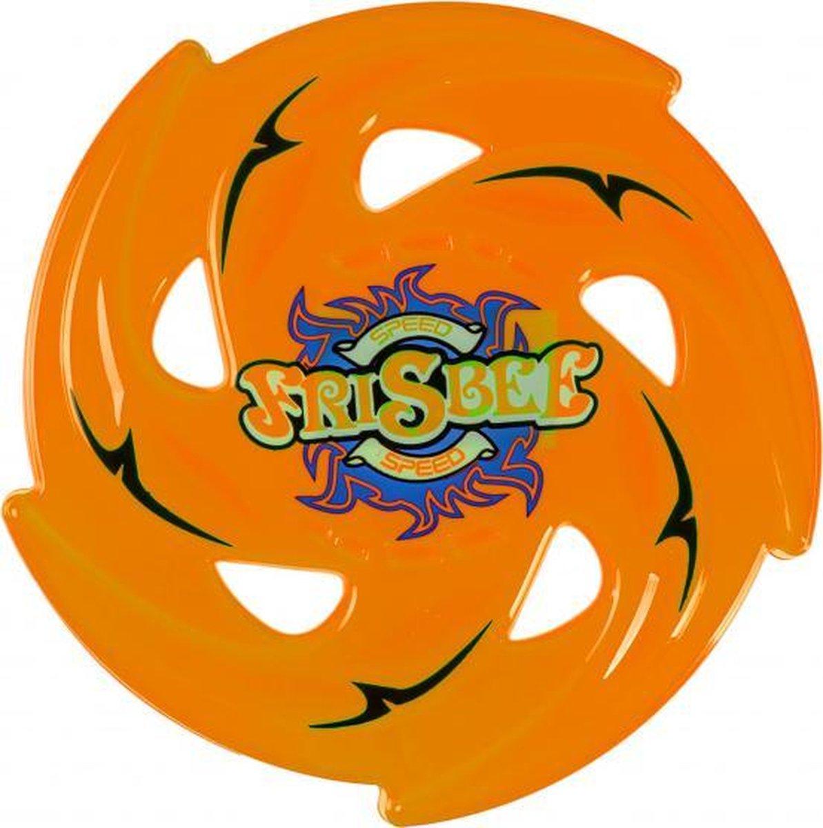 werpschijf Speed Frisbee junior 24 cm oranje