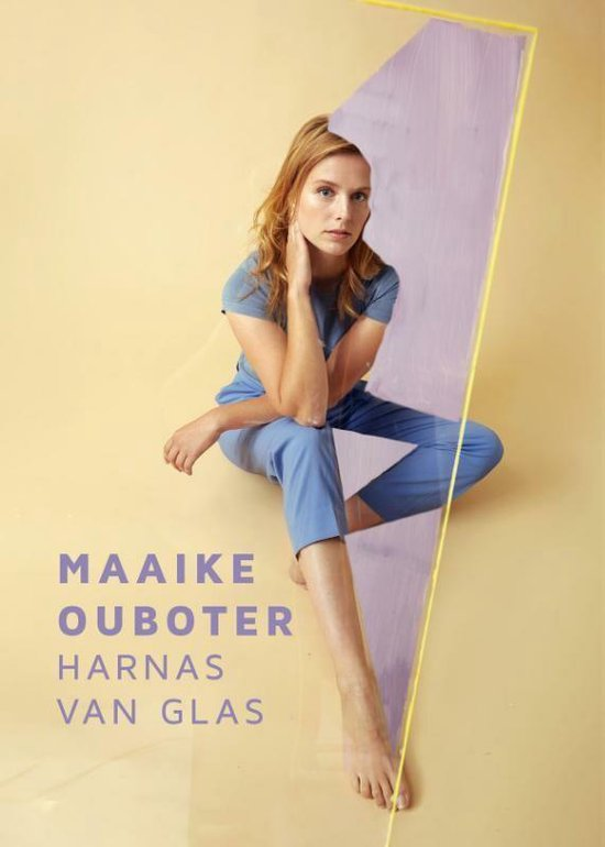 Boek cover Harnas van glas van Maaike Ouboter (Hardcover)
