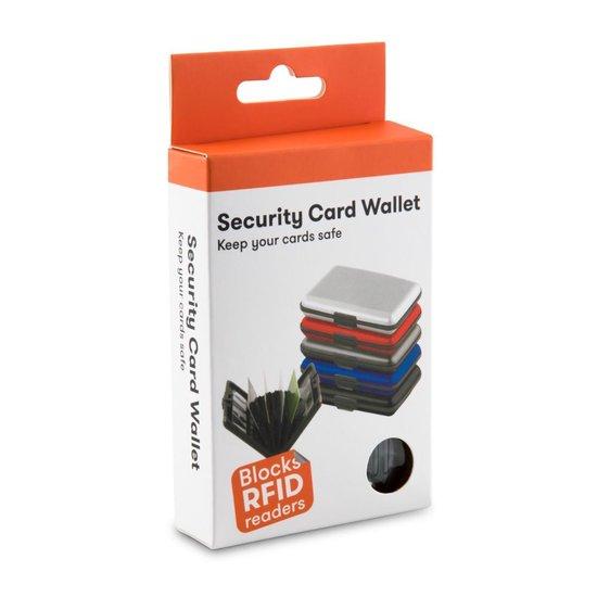 RFID Anti-Skim Aluminium Creditcardhouder - Kaarthouder - Card Protector - Pasjeshouder - Zwart
