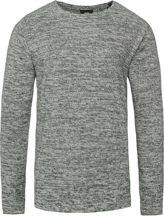 Heren fijngebreide trui | 94996937 WE Fashion