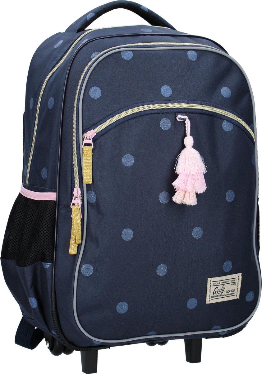 Milky Kiss Trolley backpacks Milky Kiss PL Girly Goods Rugzaktrolley - 50,3 l - Navy Blauw