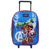 Avengers Trolley suitcases Marvel the Avengers Children Trolley - Captain Amercia, Iron Man, The Hulk and Thor - Blue